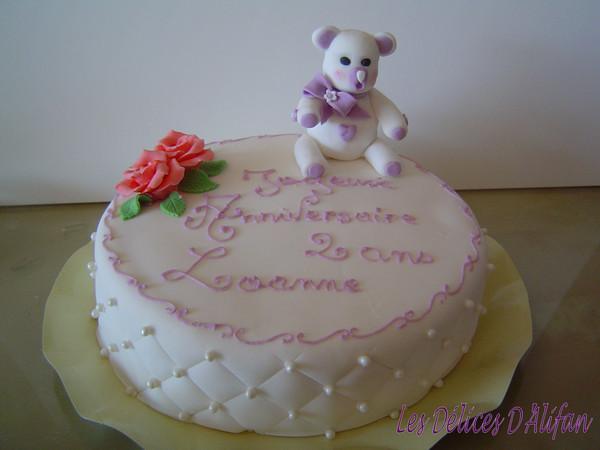 rainbow cake avec d 233 co p 226 te a sucre